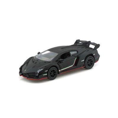 Bil i metal - Lamborghini Veneno, sort