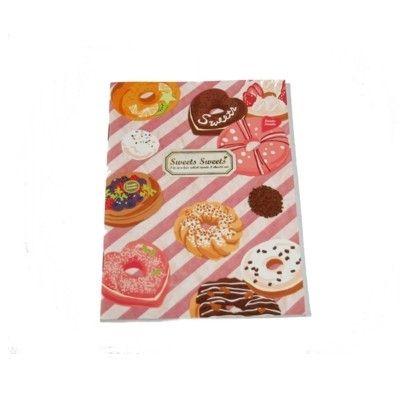 Skriveblok - doughnuts