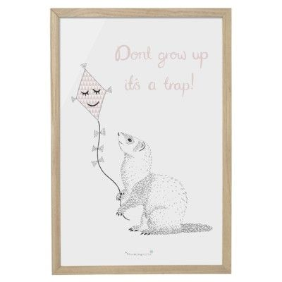 Billed - Don't grow up it's a trap! - Bloomingville