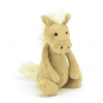 Hest - tøjdyr - 31 cm