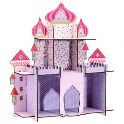 Væghylde - Prinsesseslot - Djeco