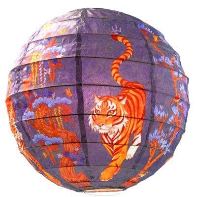 Rislampe - tiger