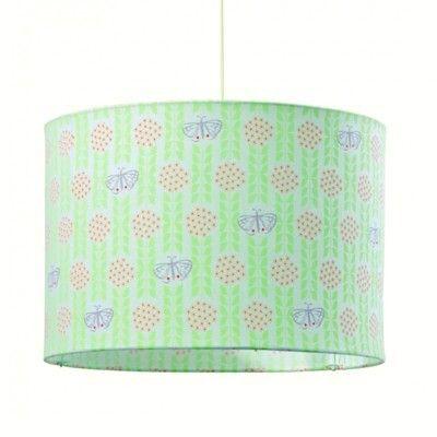 Loftslampe - Sommerfugle og blomster - 35 cm dia