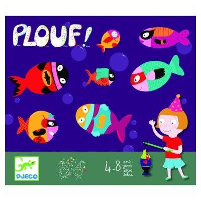 Spil - fiskespil - perfekt til børnefødselsdagen  - Djeco