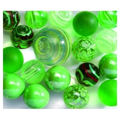 Glaskugler - grønne