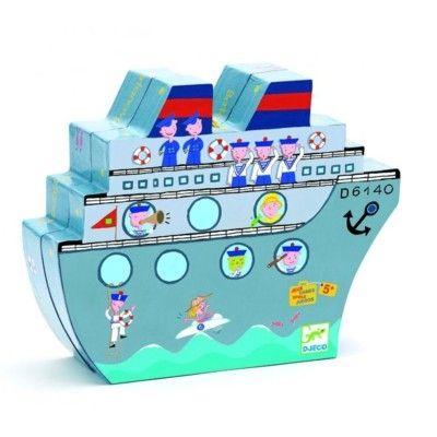 Spil - sænk slagskibe - Djeco