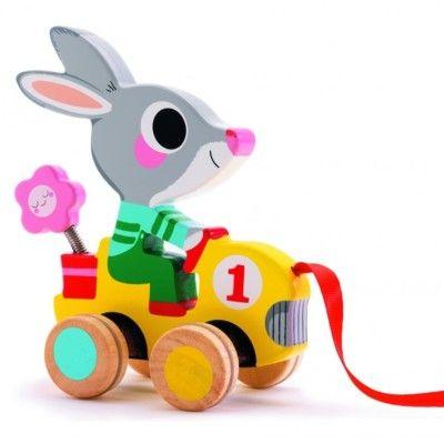 Trækdyr - kaninen Roulapic - Djeco