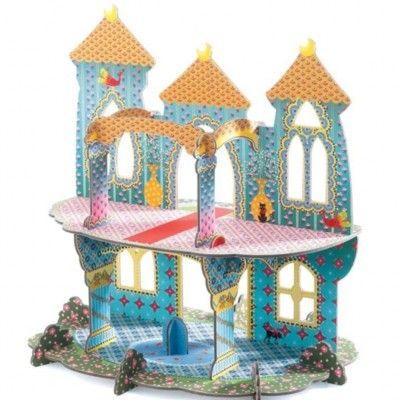 Pop to play - Prinsesseslot - byg og leg