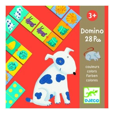 Domino med dyr - Djeco