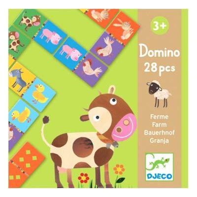 Domino med bondegård - Djeco