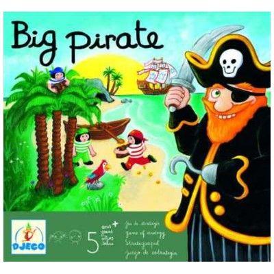 Spil - Big pirate - Djeco
