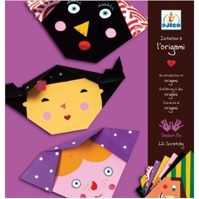 Origami - ansigter - Djeco