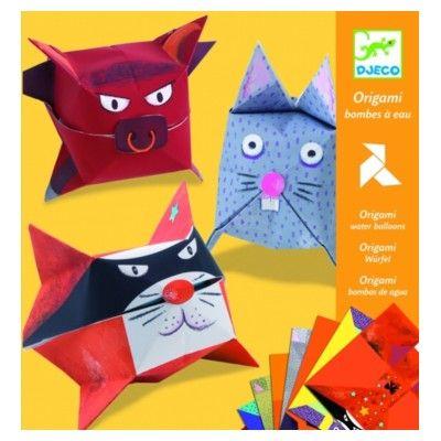 Origami, ballondyr - Djeco