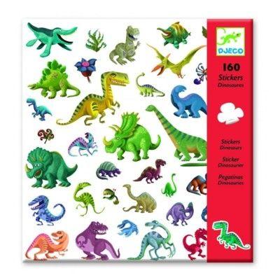 Klistermærker - dinosaurus - Djeco