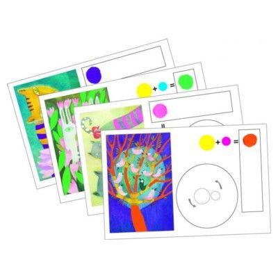 Mal billeder med rigtige farver - Djeco