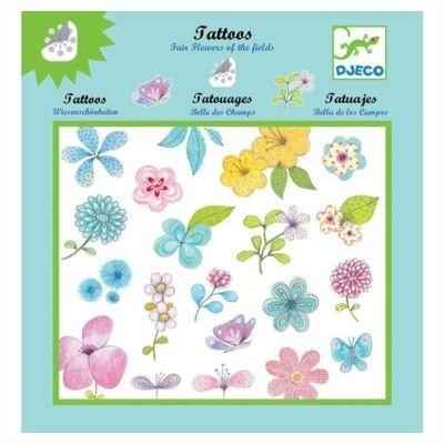 Tatoveringer - blomster på engen