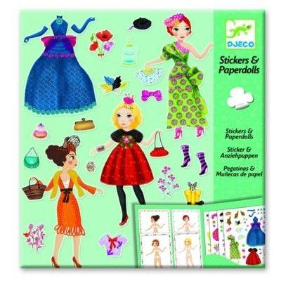 Påklædningsdukker i papir - mode