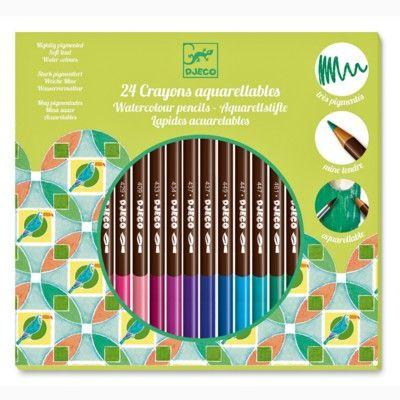 Farveblyanter 24 stk - Djeco