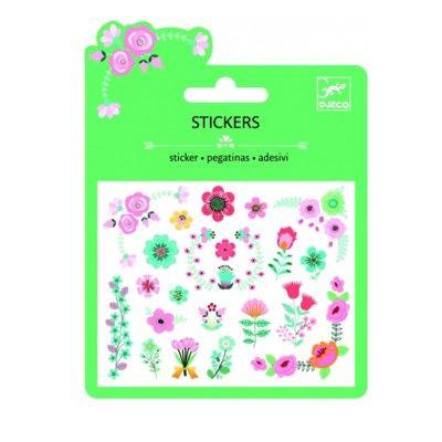 Klistermærker - blomster