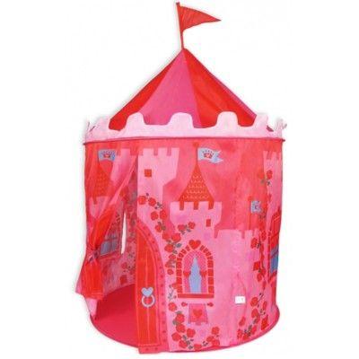 Legetelt - lyserødt slot
