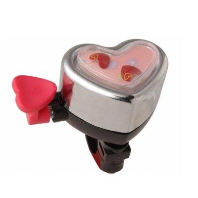 Ringeklokke til cykel - hjerte - Liix