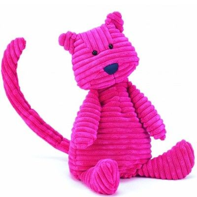 Kat - tøjdyr, fløjl - 45 cm - Jellycat