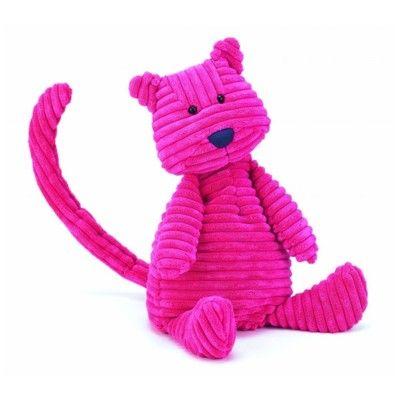 Kat - tøjdyr, fløjl - 25 cm - Jellycat