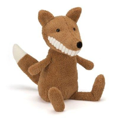 Toothy Fox - tøjdyr - 40 cm - Jellycat