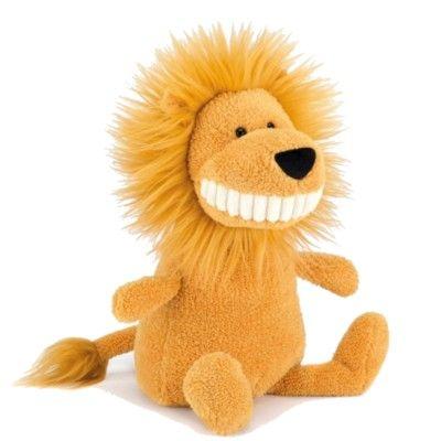 Toothy Lion - tøjdyr - 40 cm
