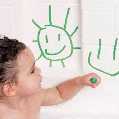 Badelegetøj - tegne i badet