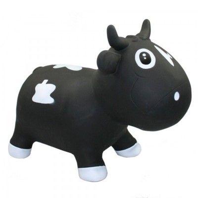 Hoppedyr - ko, sort og hvid
