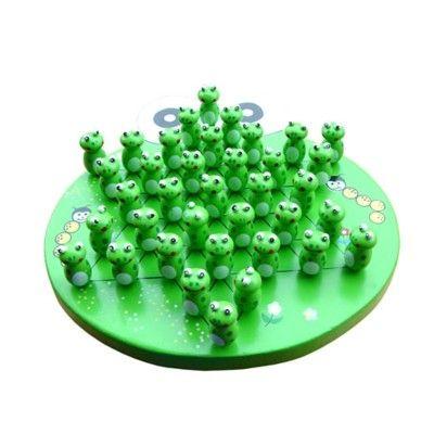 Solitaire spil med frøer