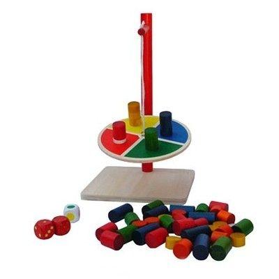 Balancespil med klodser