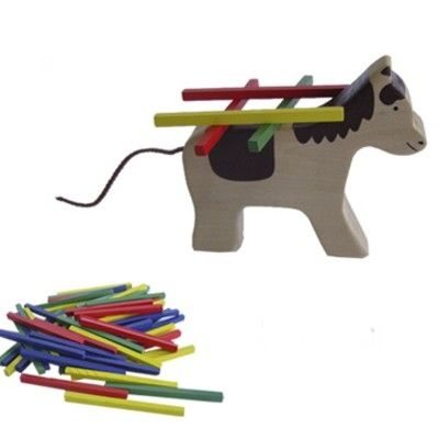 Balancespil med hest