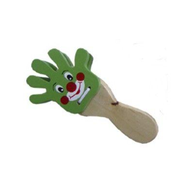 Håndklapper - klovn, grøn