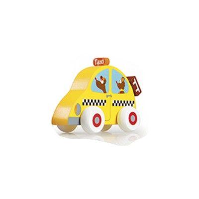 Træbil - taxi