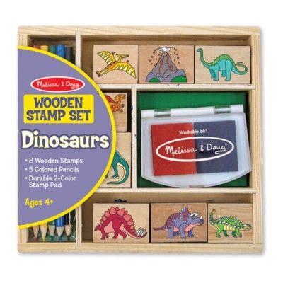 Stempelsæt - dinosaur
