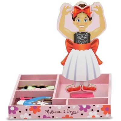 Magnet puslespil - Nina Ballerina